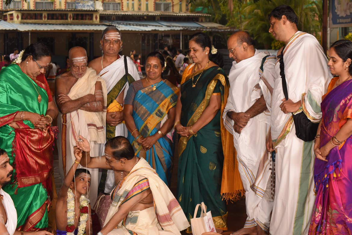 Upanayanam Photography | Sacred thread wearing ceremony