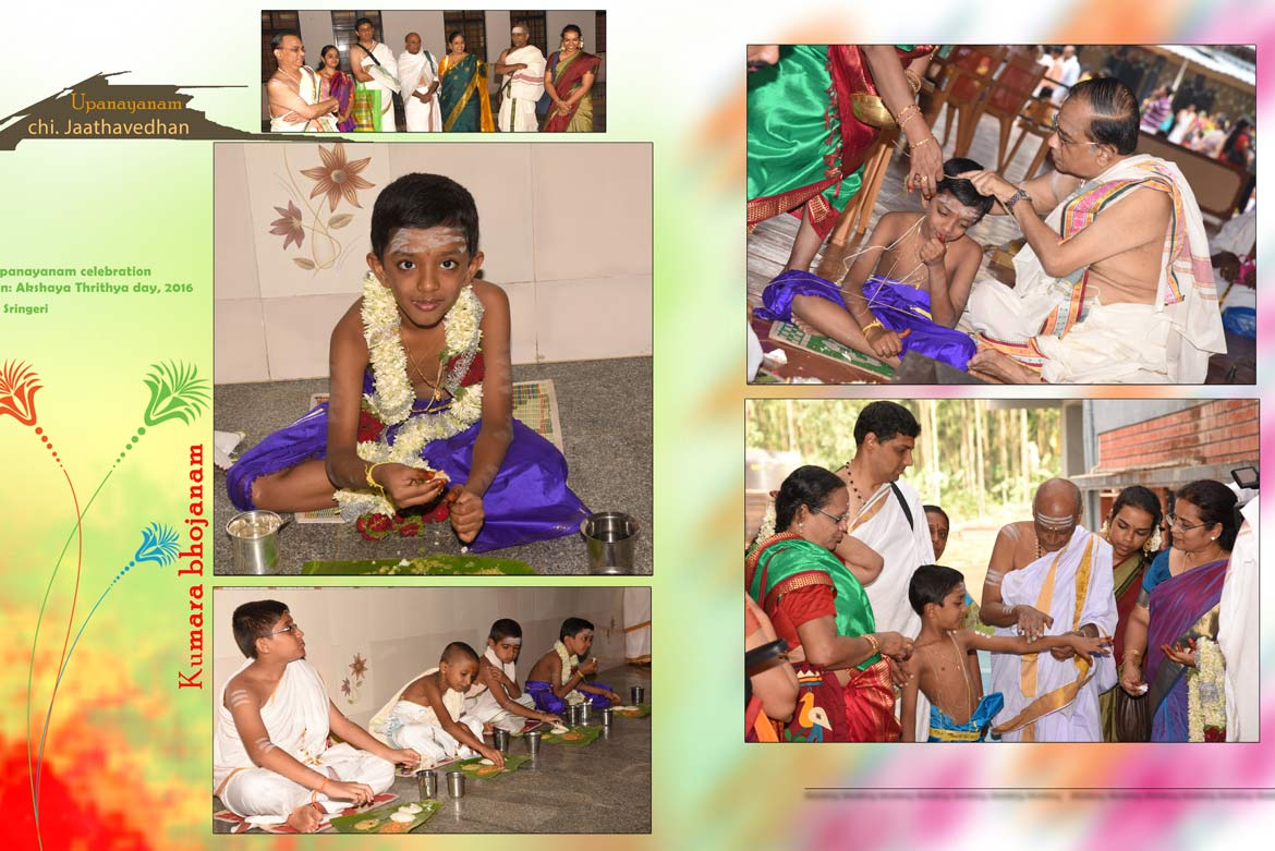 Upanayanam Photographers in Chennai