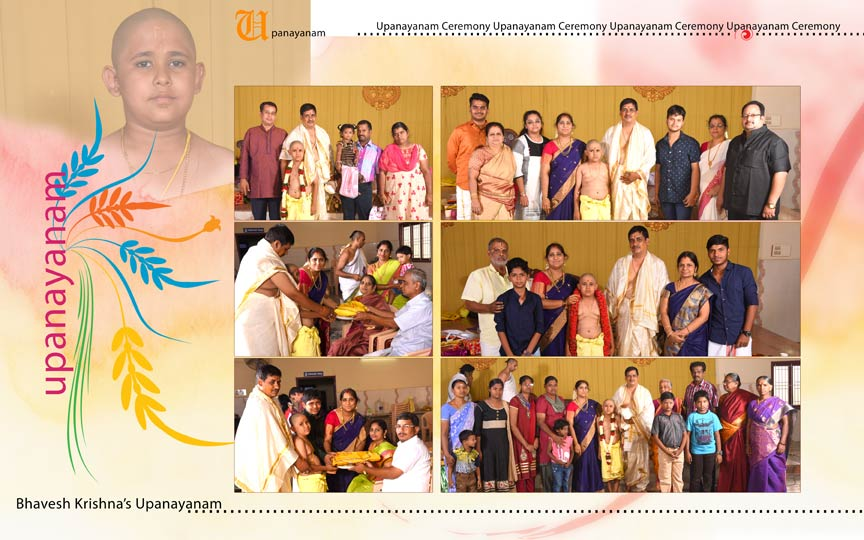 Best Professional Candid Upanayanam Photographers in coimbatore