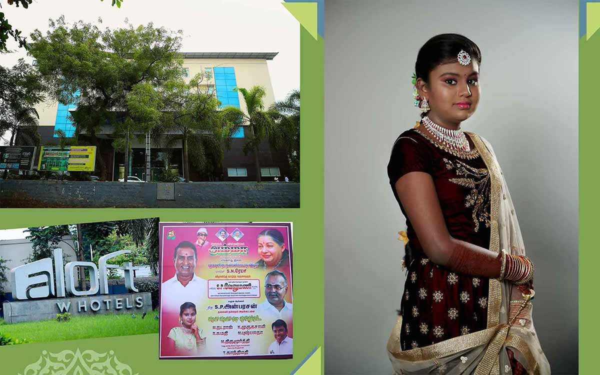 Puberty-function-photography at ALOFT Coimbatore
